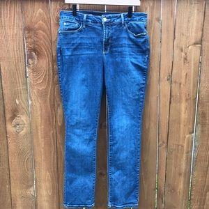 NYDJ Samantha Slim High Waisted Skinny Jeans 14P
